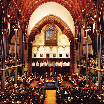 Bute Hall graduation
